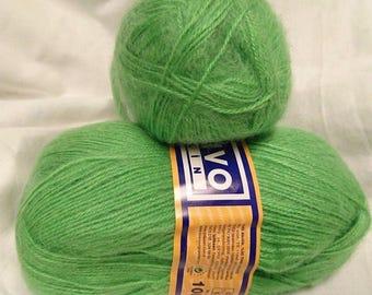 wool-knitting-crochet - 5 balls of yarn / 100gr / MOHAIR