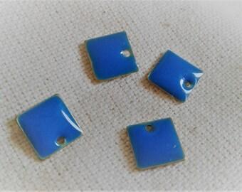 Set of 4 enamel