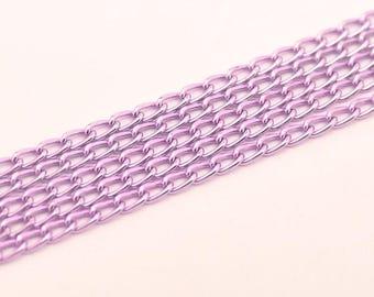 3 meters of aluminum - T 19 purple chain