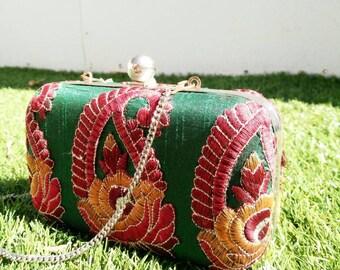 Vintage Embroided Bag