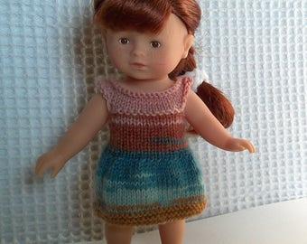 Clothing, dress for mini Corolline doll 20 cm.