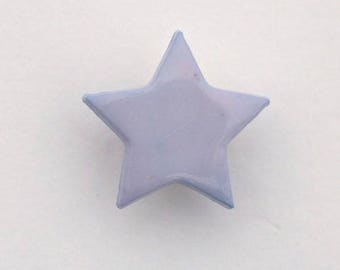 Set of 6 x 14mm - 001661 star buttons