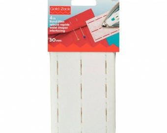 Interfacing for quick edge 30 mm Prym perforbande