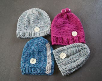 very warm hats for girls or boys