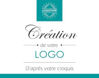 Create your custom according to your sketch logo business logo custom logo, boutique logo