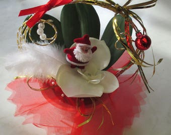 Small table centerpiece, Christmas decoration