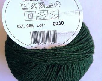 MOST of DMC colors 086 khaki wool