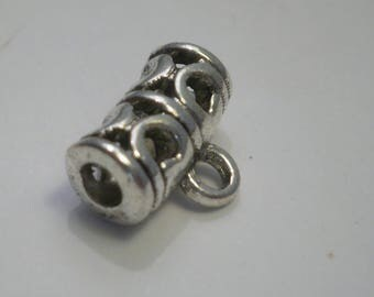 2 silver bails 11.5 mm x 9 mm EA
