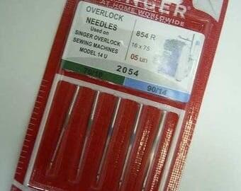 Serger needles Singer 2054 assortment 70-90