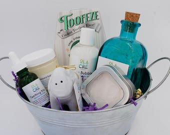Shower Baby & Mama Gift Basket