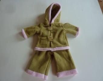Dolls: set of fleece for 36cm dolls