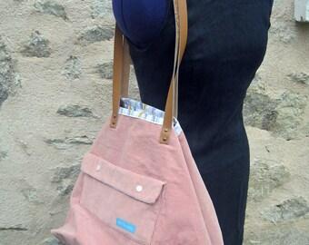 XXL pink handbag