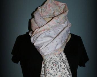 Scarf shawl scarf Grey Liberty cheich