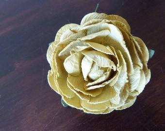 Large flower paper embellishment