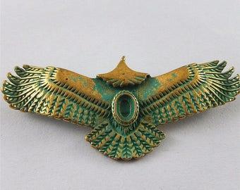 bronze 1 Eagle pendant 55 x 24 x 5 mm