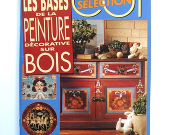"""Book """"Decorative painting on wood bases"""" knitting Selection."""