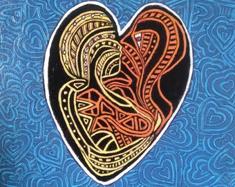 Fancy hearts, BIG 56, love, Kiss