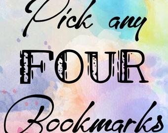 Pick any FOUR bookmarks