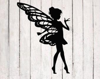 Fairy SVG | Fairy Cut File | Silhouette Files | Cricut Files | SVG Cut Files | PNG Files