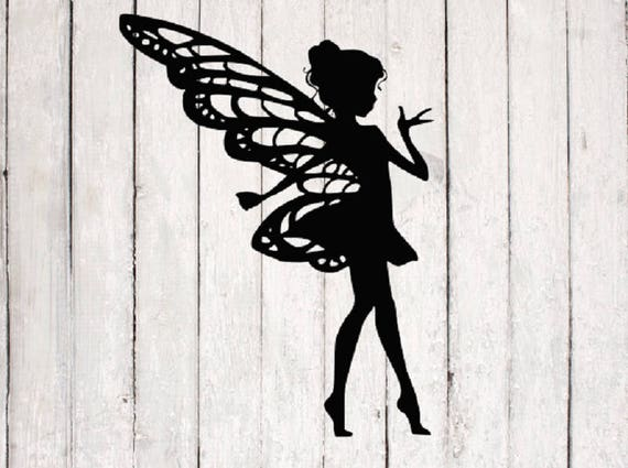 Fairy Svg Fairy Cut File Silhouette Files Cricut Files