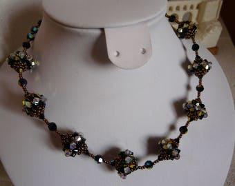 "NECKLACE ""gala"" SWAROVSKI Crystal"
