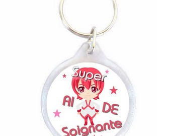 Super nurse keychain