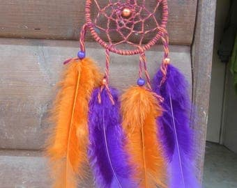 Catch dreams purple and Orange / Miniature / actual 20 cm