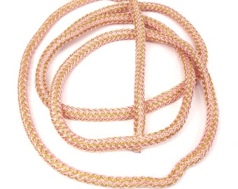 Large 5 mm X 50 cm two-tone nylon braided cord