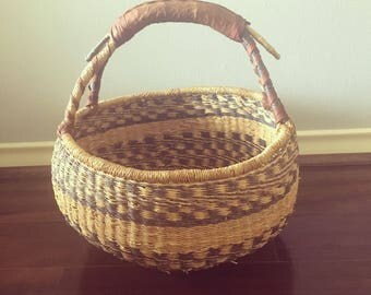 Large fair trade basket.