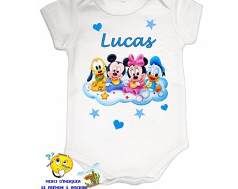Onesie personalized with name ref 16