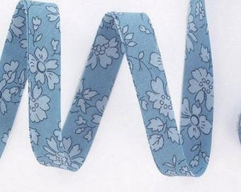 Liberty capel blue fabric by the yard