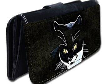 Cat pattern wallet
