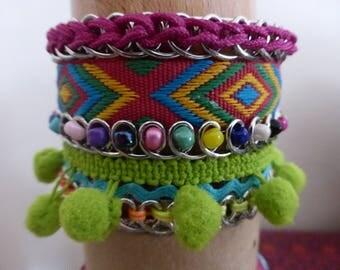 large ethnic bracelet
