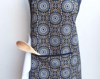 Geometric patterns for novice cooks apron