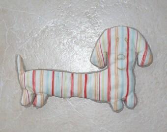 plush velvet Dachshund dog