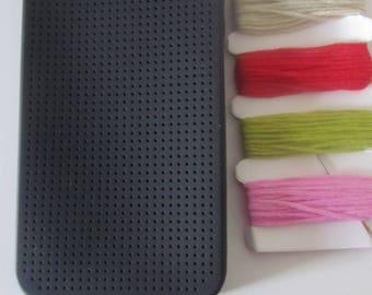"My little kit cross stitch ""compatible case Iphone 4 / 4s"""