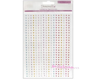 Set of 468 mini rhinestone embellishments scrapbooking.* stickers