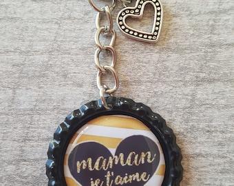 Keychain I love you MOM