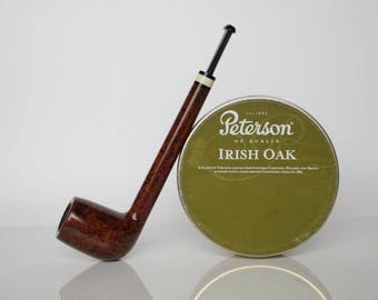 Tobacco smoking traditional briar pipe - Unexceptionally Long Lovat