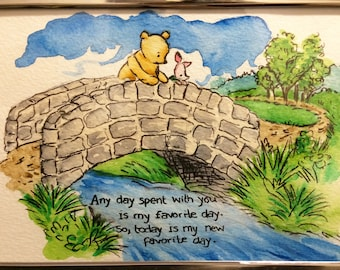 Pooh and Piglets Friendship Bridge