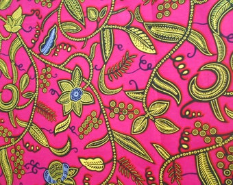 Small piece of African fabric, Wax, Ankara African 45cm x 55cm