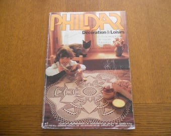 Catalogue Phildar Decoration and crafts n ° 1