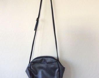 1980s Liz Claiborne Bag, retro Black shoulder bag, cross body Bag, Liz shoulder Bag, Liz 80s purse, great Mom gift, Retro Bag