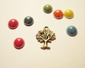 1 charm tree color bronze