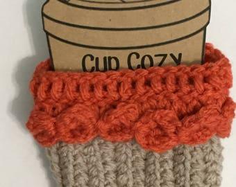 Orange Cupcake Cup Cozy