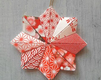 Star hanging - decorative origami Japanese paper