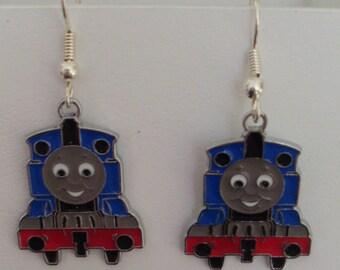 These earrings fun trains
