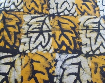 1 piece of wax fabric African batik Foundation