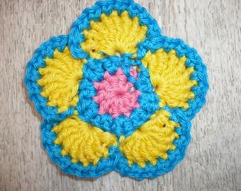 applique flower crochet applique flower crochet applique, sewing, applique