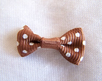 Little bow, decorative, this headband, brown bag